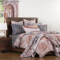 Siscovers introduced over a dozen unique designs featuring The Art of Marbling on soft home furnishings for the bedroom in 2019.